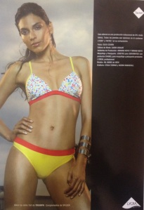 PRESS RELEASE:Triumph International swim Europe S/S2003 advertisement